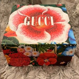 GUCCI: Authentic Floral Storage Box: Limited EDT.